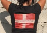 Tee shirt Noir Manches Courtes – Edelweiss et Drapeau Authentique