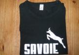 Tee shirt Noir Manches Courtes – Savoie Chamois